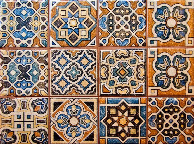 марокканский пэчворк