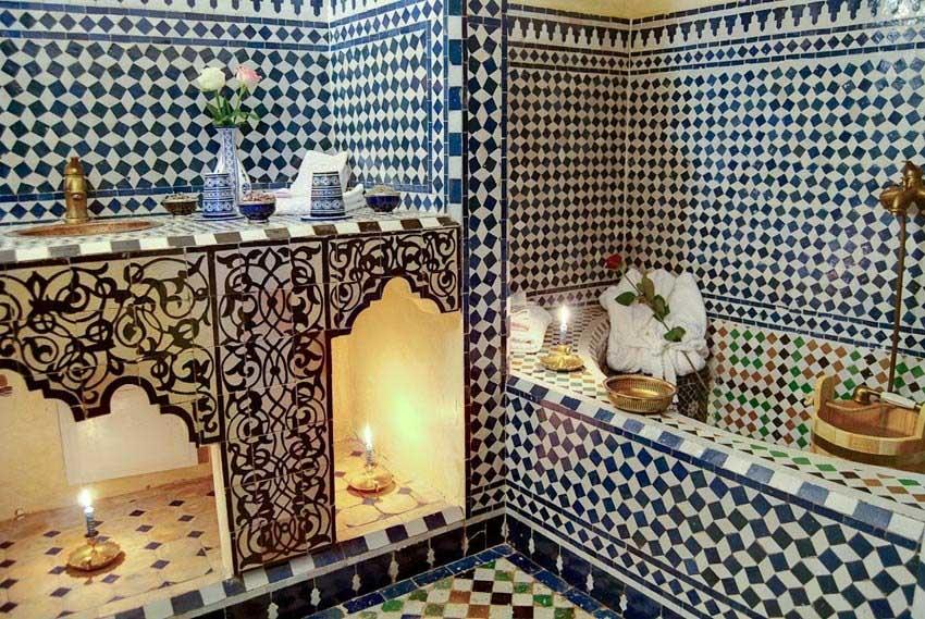 типичный марокканский зелидж