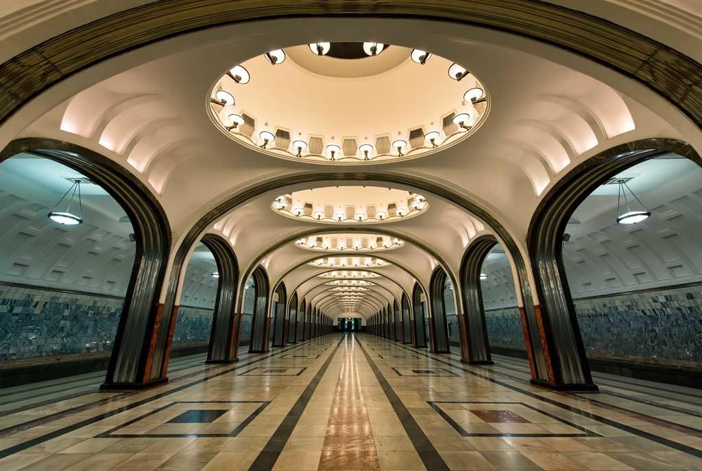 керамогранит в метро